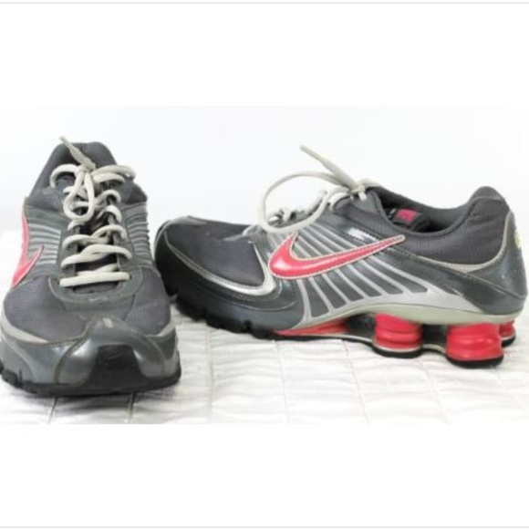 competitive price 9ae2f 6d2cb Nike Shox Womens Shoes Turbo 8 Sz 10 Grey Pink
